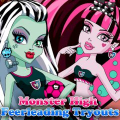 Monster High Feerleading Tryouts