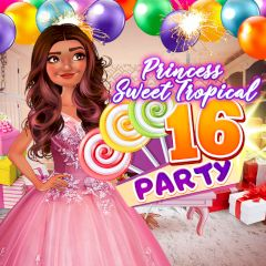Princess Sweet Tropical 16 Party