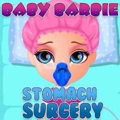 Baby Barbie Stomach Surgery