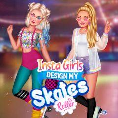 Insta Girls Design My Roller Skates
