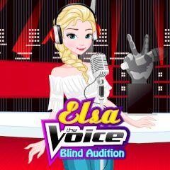 Elsa the Voice Blind Audition
