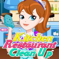 Kitchen Restaurant Clean up