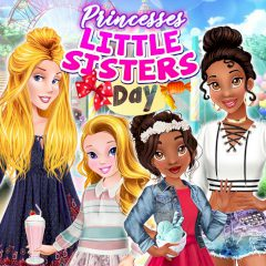Princesses Little Sisters Day