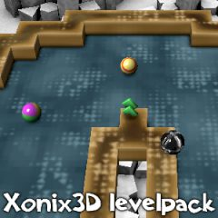 XoniX 3D. Level Pack