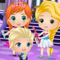 Chibis on Rock'n'Royals