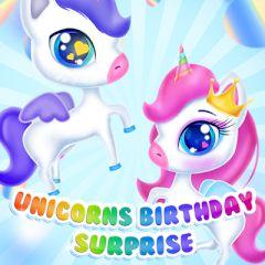 Unicorns Birthday Surprise