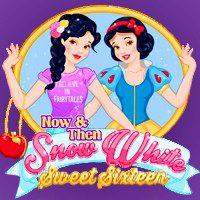Now & Then Snow White Sweet Sixteen