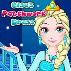 Elsa's Patchwork Dress