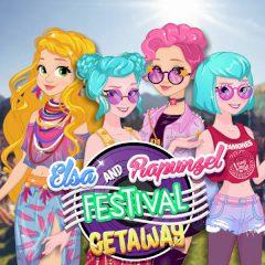 Elsa and Rapunzel Festival Getaway