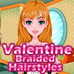 Valentine Braided Hairstyles