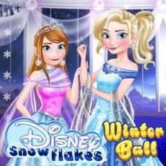 Disney Snowflakes Winter Ball