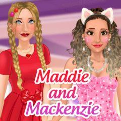 Maddie and Mackenzie