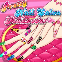 Pretty Nail Salon Makeover