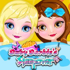 Baby Barbie's Sleepover