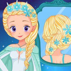 Elsa Real Wedding Braids