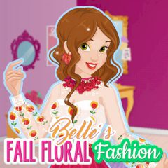 Belle's Fall Floral Fashion