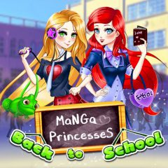 Manga Princesses Back to School