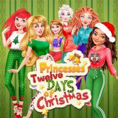 Princesses' Twelve Days of Christmas