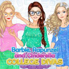 Barbie, Rapunzel and Cinderella College Divas
