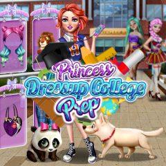 Princess Dressup College Prep