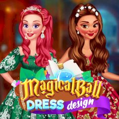 Magical Ball Dress Design