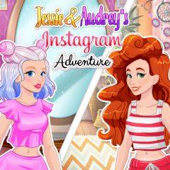 Jessie & Audrey's Instagram Adventure