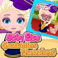 Baby Elsa Graduation Photoshoot