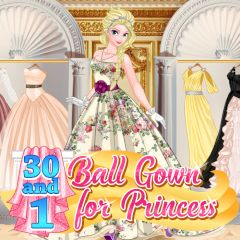 30 and 1 Ball Gown for Princess