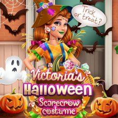 Victoria's Halloween Scarecrow Costume