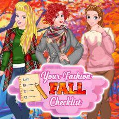 Your Fashion Fall Checklist