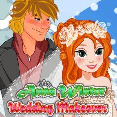 Anna Winter Wedding Makeover