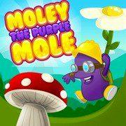 Moley the Purple Mole