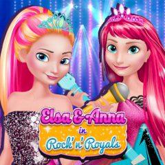 Elsa & Anna in Rock'n'Royals
