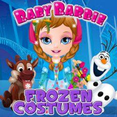 Baby Barbie Frozen Costumes