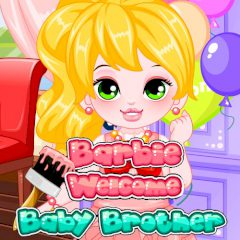 Barbie Welcome Baby Brother