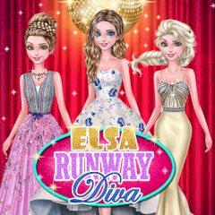 Elsa Runway Diva