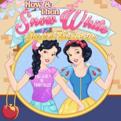 Now & Then Snow White Sweet Sixteen