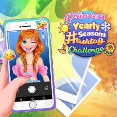 Princess Yearly Seasons Hashtag Challenge