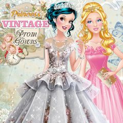 Princess Vintage Prom Gowns