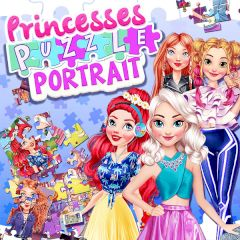 Princess Puzzle Portrait