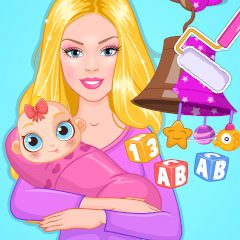 Barbie's Baby DIY Nursery
