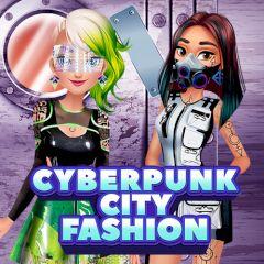 Cyberpunk City Fashion