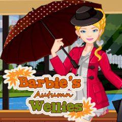 Barbie's Autumn Wellies