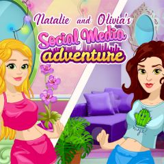 Natalie and Olivia's Social Media Adventure