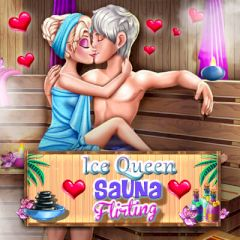 Ice Queen Sauna Flirting