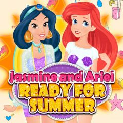 Ariel and Jasmine Ready for Summer