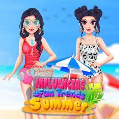 Influencers Summer #Fun Trends