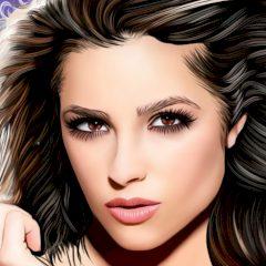 Olivia Culpo Face Mask