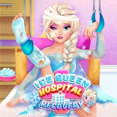 Ice Queen: Hospital Recovery