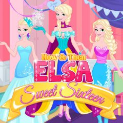 Now & Then Elsa Sweet Sixteen